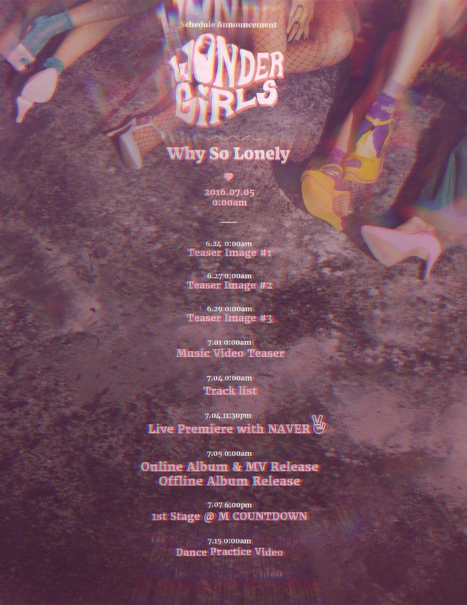 wonder girls comeback