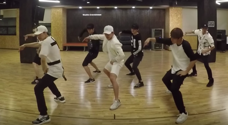 "Watch: INFINITE Surprises With ""Bad"" Dance Practice"