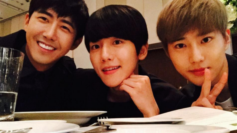 ZE:As Kwanghee Shares Drawings Of EXOs Baekhyun And Suho Their Response