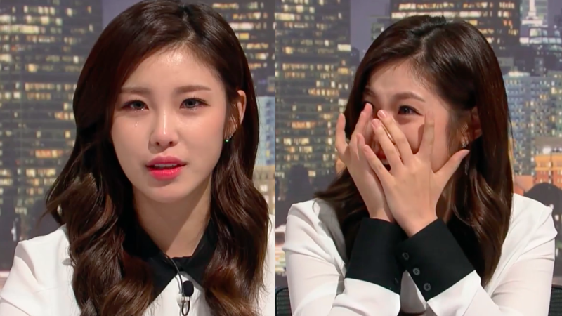 "Watch: Secret's Jun Hyosung Tears Up On ""SNL Korea"""