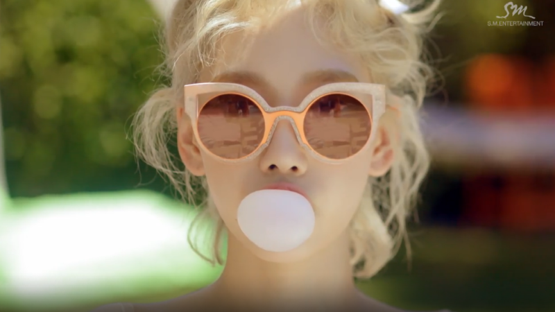 "Watch: Taeyeon Has Fun In The Sun In 2nd Teaser Video For ""Why"" MV"