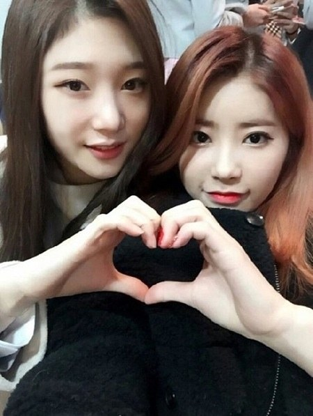 DIAs Jung Chaeyeon And Cathy Donate To A fantastic Cause