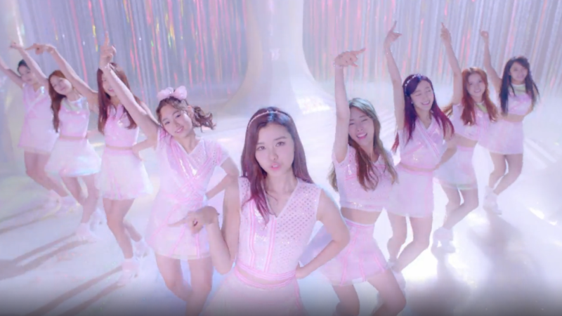 "Watch: gugudan Welcomes You To Their ""Wonderland"" In Debut MV"