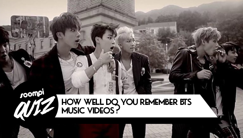QUIZ: How Well Do You Remember BTS Music Videos?