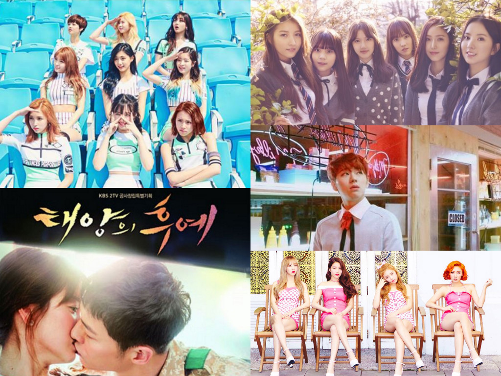 Mnet Exhibits Top 30 Hit Songs For First Half Of 2016