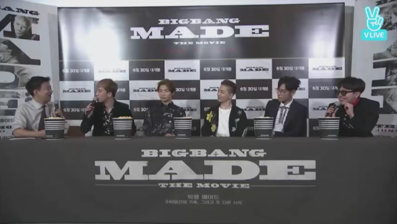 "BIGBANG'S G-Dragon And Taeyang Say They'll Show Their True Selves In ""BIGBANG MADE"" Film"