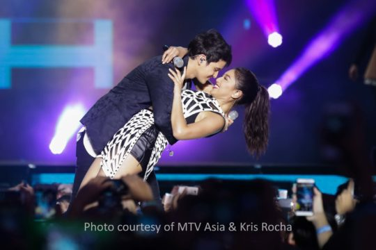 James Reid and Nadine Lustre function at MTV Music Evolution Manila 2016 on 24 Jun Pic 2 (Credit-MTV Asia Kris Rocha)
