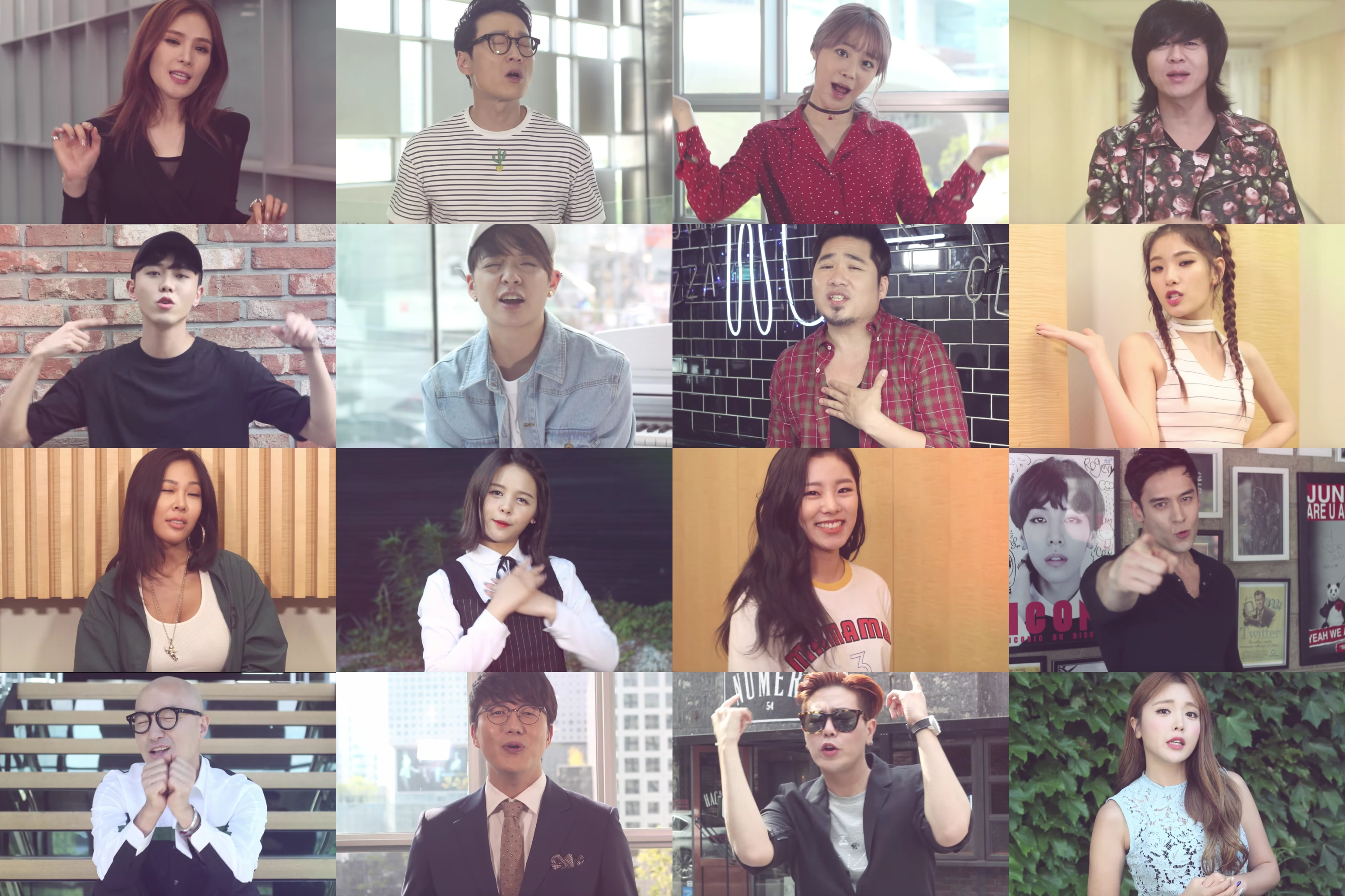 Can You Name All The celebrities In Kim Jo Hans New MV Y.O.U?
