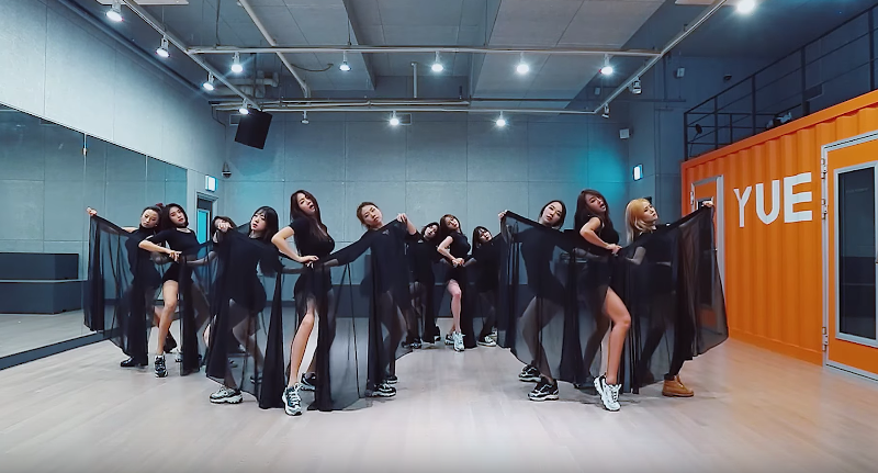 SISTAR Doesnt Miss A Step In Dance Practice Video For I Like That