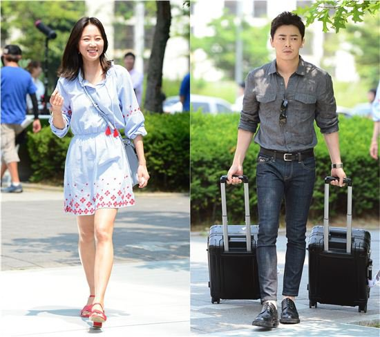 "Gong Hyo Jin And Jo Jung Suk Turn The Streets Into A Runway For ""Incarnation of Envy"""