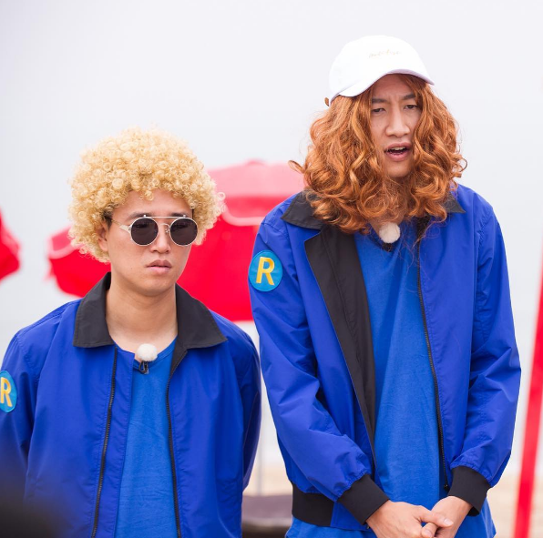 """Running Man"" Cast Members Remodel With Hilarious Wigs In Stills From Next Episode"