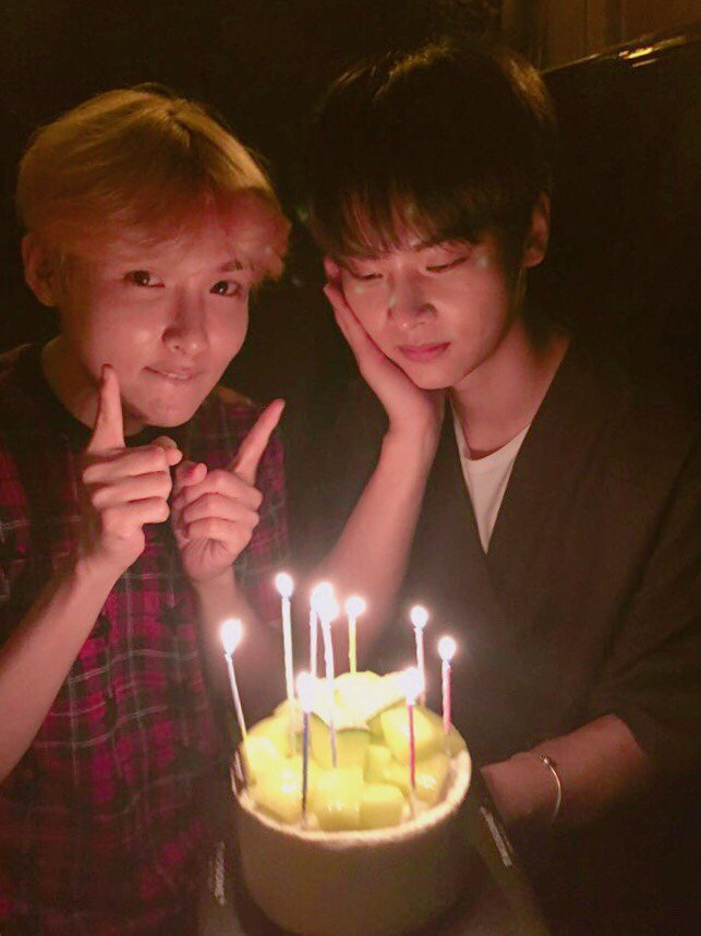 Super Junior's Ryeowook Surprises VIXX's N With A Thoughtful Birthday Cake