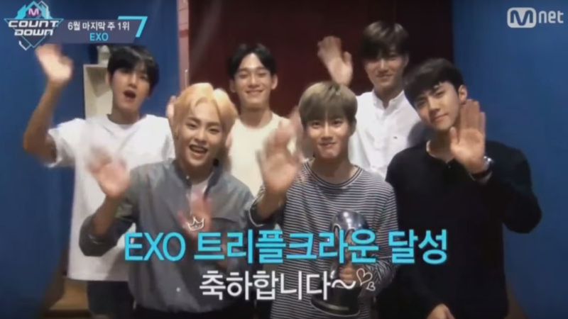 """Watch: EXO Takes 8th Win For """"Monster"""" On """"M!Countdown,"""" KCON NY Performances By BTS, Ailee, BTOB, And More"""