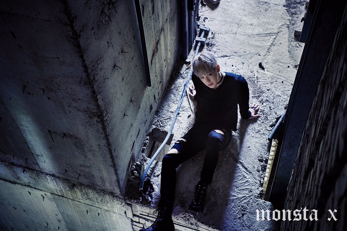 "MONSTA X >> Mini Album ""The Connect: Dejavu"" Wonho-2"