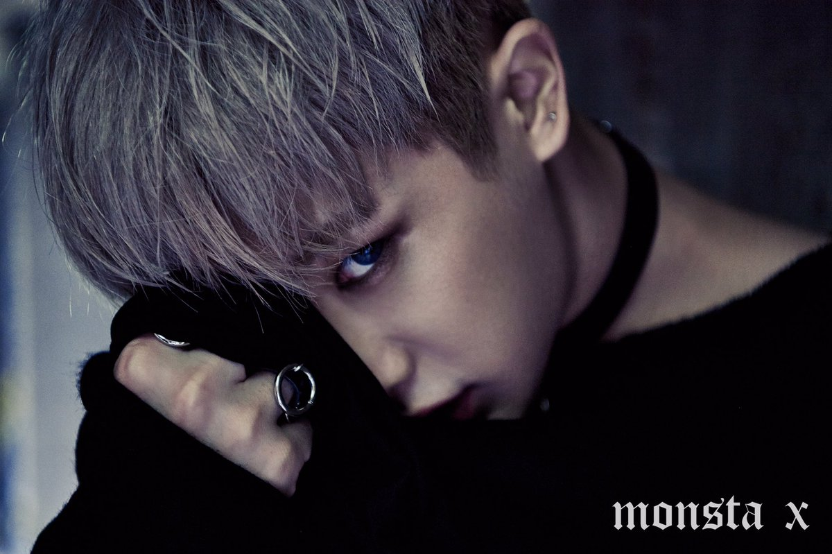 "MONSTA X >> Mini Album ""The Connect: Dejavu"" Wonho-1"