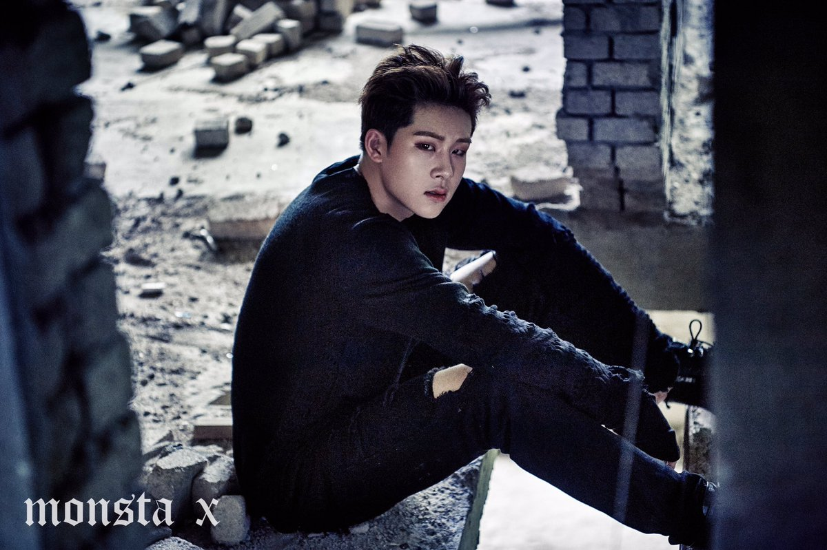 "MONSTA X >> Mini Album ""The Connect: Dejavu"" Jooheon-2"