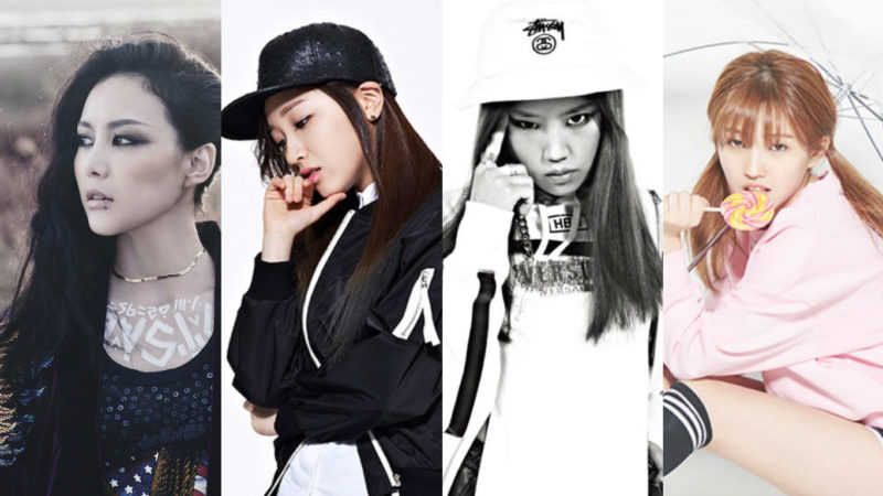 Miryo, Yuk Ji Dam, Yuna Kim, Jeon Soyeon, And Others Confirmed For Unpretty Rapstar 3