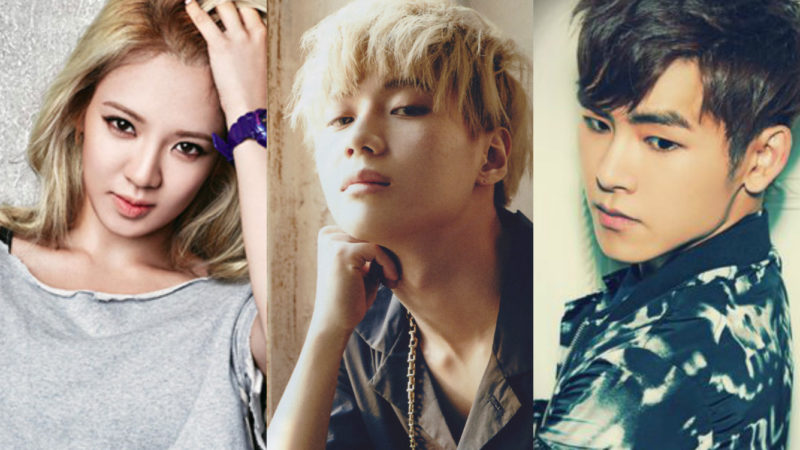 Hyoyeon, Taemin, Hoya, And Others Confirmed For Dance Competition Show Hit The Stage