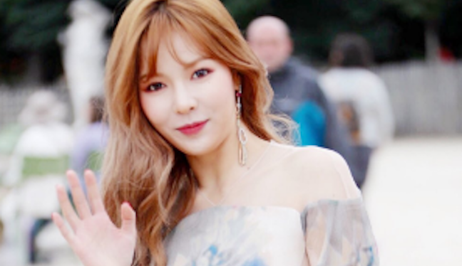 HyunA Attends Paris Fashion Week