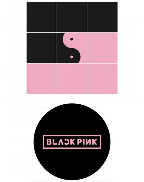 Black Pink Logo