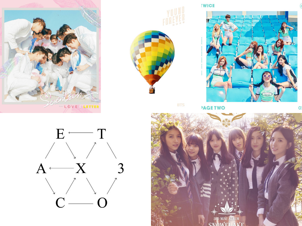 Gaon Chart Displays Album Sales And Digital Rankings For First Half Of 2016