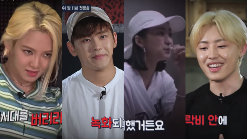 Watch: Hyoyeon, Hoya, Bora, U-Kwon, And More Practice For Conflict In Hit the Stage Teasers