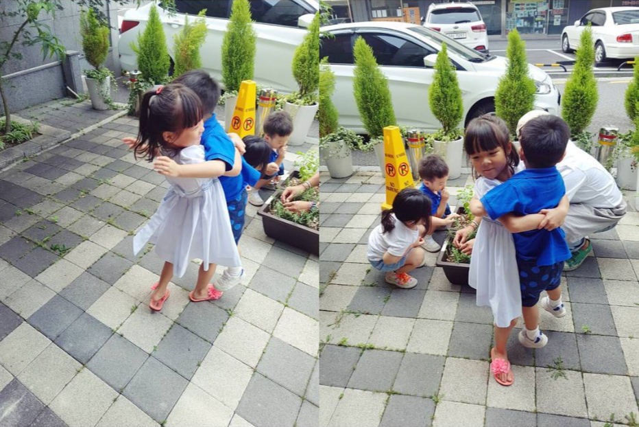 Choo Sarang Warmly Reunites With Lee Seo Eon And Lee Seo Jun