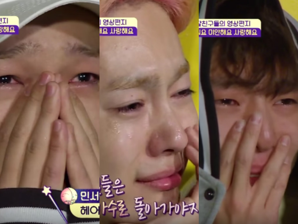 WINNER Have An Emotional Farewell With Their Kids On Half-Moon Friends