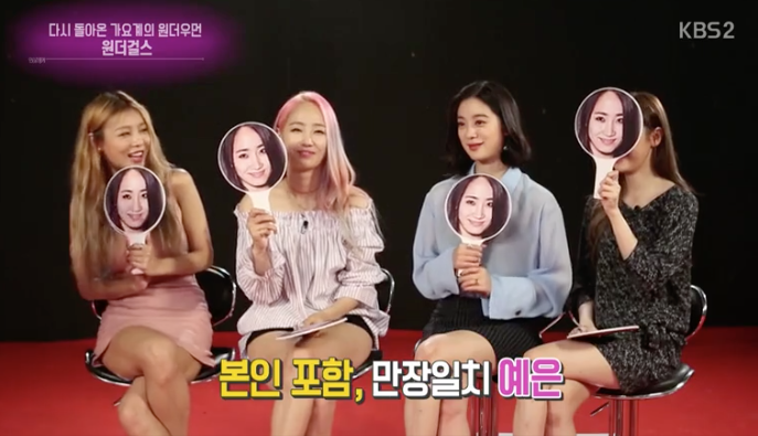 Wonder Girls Unanimously Pick Yeeun As Member Who Showers The Least