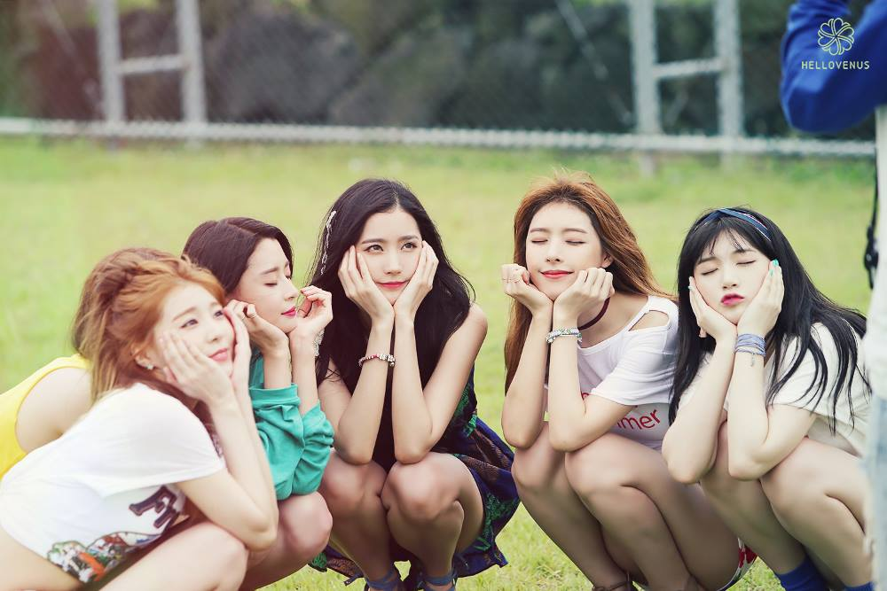 Hello Venus Shares Sneak Peek Of New MV With Behind-The-Scenes Shots