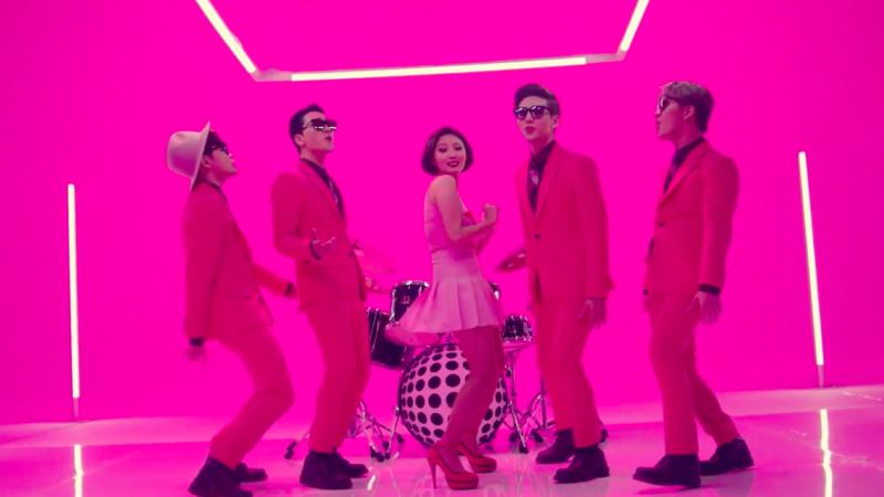 "Watch: MAMAMOO's Brother Organization VROMANCE Debuts With Fun ""She"" MV, Featuring Hwasa"