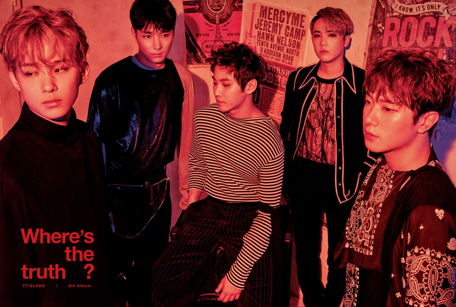 "FTISLAND Drops Organization And Individual Teasers For Comeback With ""Where's The Truth?"""