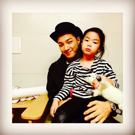 BIGBANG's Taeyang Shares Throwback Photo With Tablo's Daughter Haru
