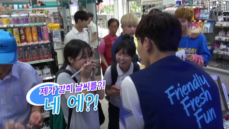 MONSTA X Dresses Up As Convenient Store Employees And Customer Reactions Are Priceless