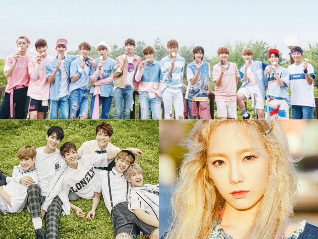ASTRO, SEVENTEEN, And Taeyeon Make Top 10 On Billboard World Albums Chart