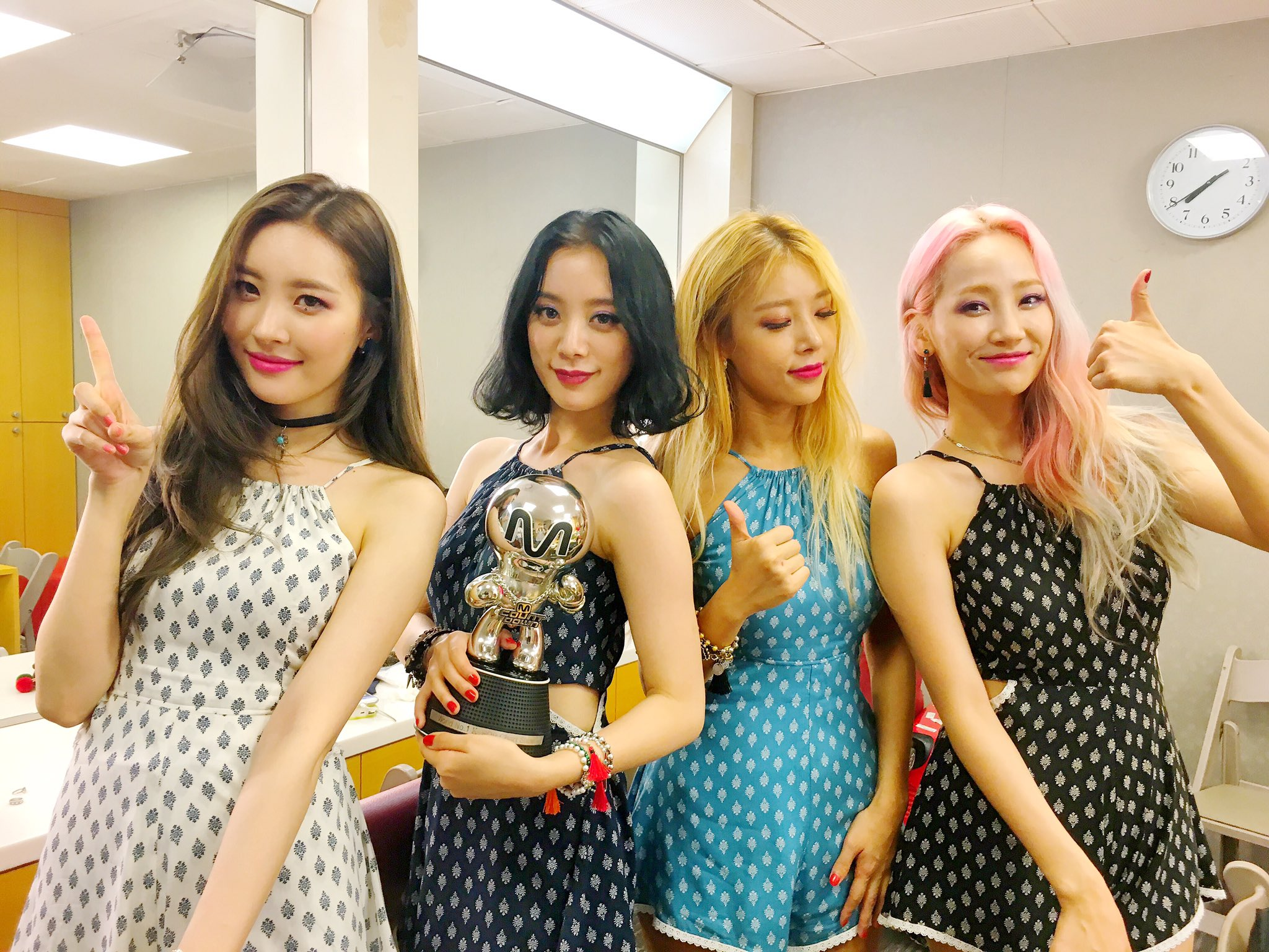 "Wonder Girls Takes 2nd Win For ""Why So Lonely"" On ""M!Countdown,"" Performances By Eric Nam, SISTAR, BEAST, And More"