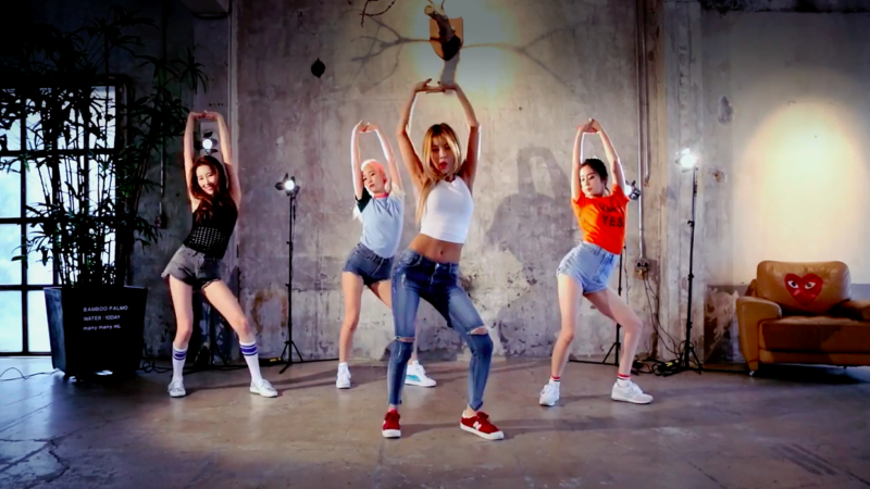 "Watch: Wonder Girls Shares Dance Practice Video After 2nd Win For ""Why So Lonely"""