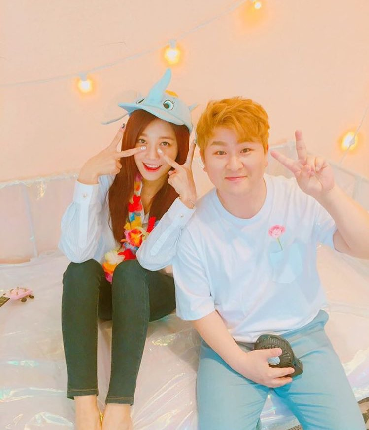 A Pinks Jung Eun Ji And Huh Gak To Reunite For New Duet Song