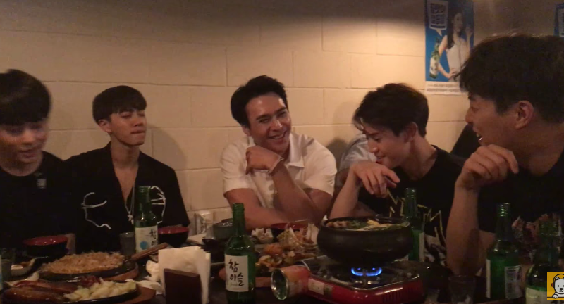 Watch: BEAST Drink And Sing Ribbon Live
