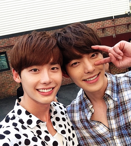 Lee Jong Suk Opens Up About Competing With Most efficient Friend Kim Woo Bin For Drama Ratings