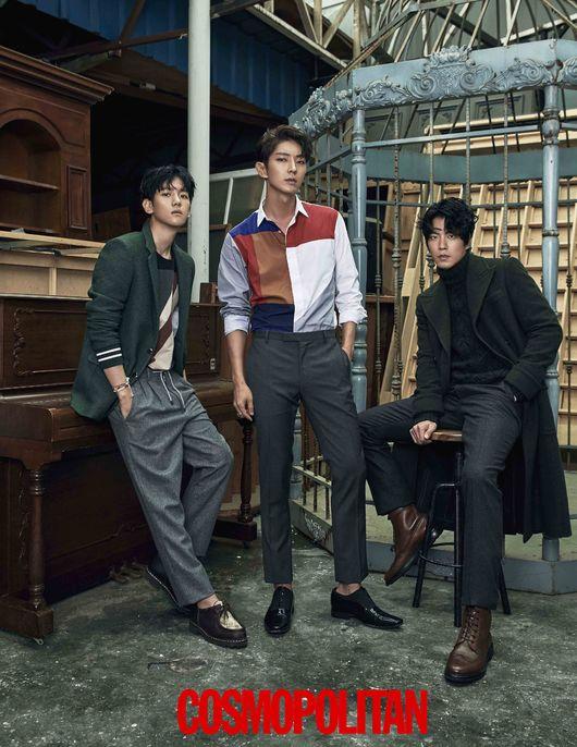 EXO Baekhyun Lee Joong Gi Kang Hong Jong Hyun