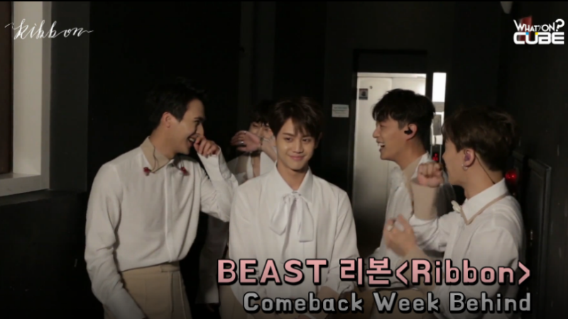 Watch: BEAST Shows Adorable Behavior On Behind The Scenes