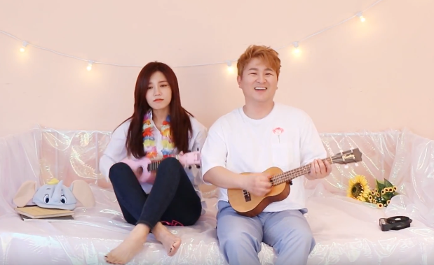 "Update: A Pink's Jung Eun Ji And Huh Gak Reveal ""Ocean"" MV Teaser"