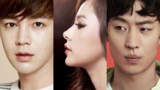 Jang Geun Suk Min Hyo Rin Lee Je Hoon