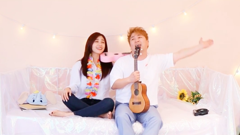 "Watch: A Pink's Jung Eun Ji And Huh Gak Drop MV For Summery New Duet ""Ocean"""