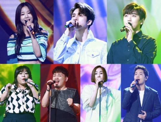 "Watch: B1A4's Sandeul, VIXX's Ken, EXID's Solji, And More Compete In ""Duet Song Festival"" Winners Special"