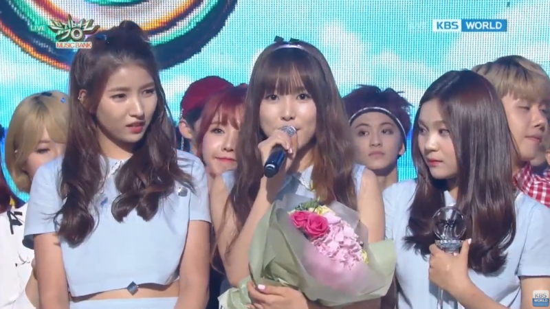 Watch: GFRIEND Gets 4th Win With Navillera On Music Bank