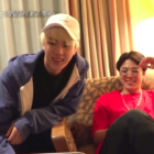 "Watch: BTS's Jimin And Jin Laugh About What Jungkook's Like At Home On ""Celebrity Bromance"""