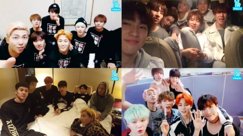BTS And GOT7 Focus on Their Most Memorable V App Broadcasts And Accidents For the duration of Shows