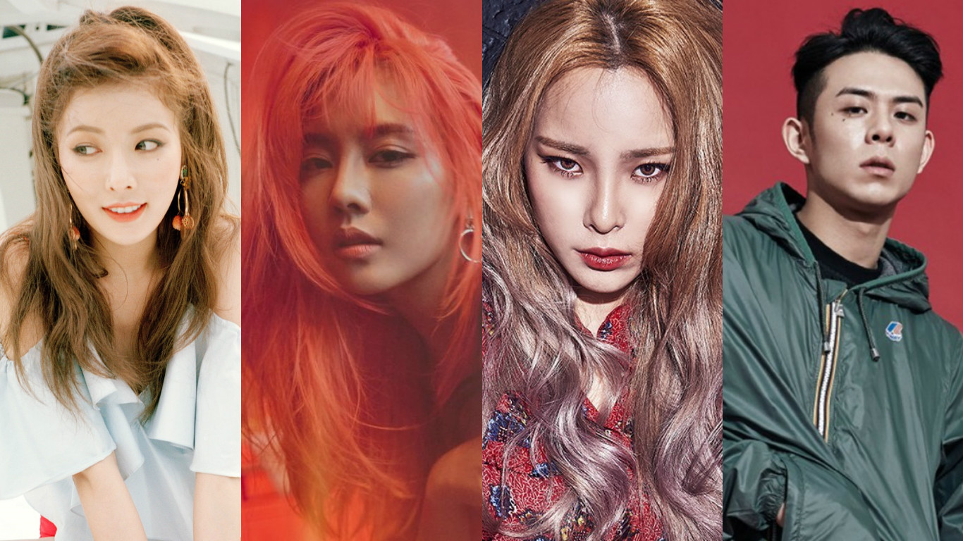 Tracks By HyunA, Fei, Heize, And Beenzino Banned By KBS